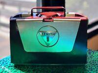 Zenith L505 - Vintage (1953) Portable Tube Radio w/ Wave Magnet- Amazing Cond.!