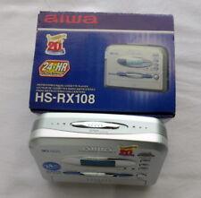 AIWA WALKMAN HS-RX108 AM/FM stereo radio cassette player NEW