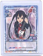 Precious Memories K-ON Azusa Nakano silver foil signed TCG Anime card v1  #3
