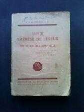 Ste Thérèse de Lisieux, une renaissance spirituelle, début XXe