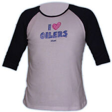 Edmonton Oilers CCM 5166 Heart Women's Hockey 3/4 Sleeve Shirt