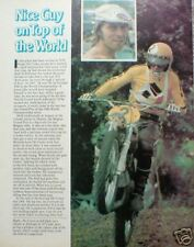 ROGER De COSTER MOTORCYCLE Racing Article/Photo/Picture