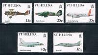 St.Helena 2008 90th Anniv.of RAF set SG 1047/51 MNH