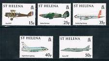 St.Helena 2008 90th Anniv.of RAF set SG 1047/51 MNH