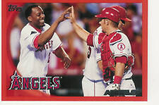2010 TOPPS FACTORY SET RED ANAHEIM ANGELS #265 /299
