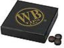 WB Acqua Buffalo Stecca da Biliardo Punta Originale Marrone Quantità 50 Punte
