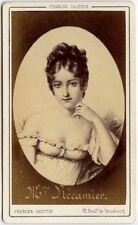 MADAME JULIETTE RECAMIER FRENCH SOCIETY LEADER BY JACOTIN PARIS CDV