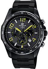 CASIO Mens Edifice Chronograph Black Watch 43mm 124685 BRAND NEW NEVER BEEN USED