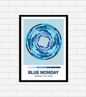 New Order Blue Monday Poster