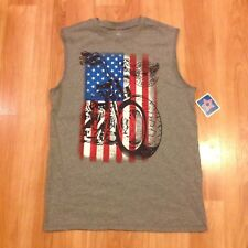 Boy's American Tee Muscle Top Size XL