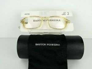 Barton Perreira Jeston Clear Champagne 50 x 19 145 mm  Eyeglass Frames
