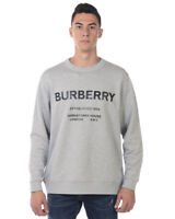 Burberry Sweatshirt Hoodie MARTLEY Man Grey 8017229 Sz. M MAKE OFFER