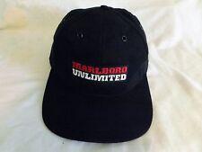 Marlboro Unlimited  Adjustable Baseball Cap Hat by Tec-Line rand McNally Map