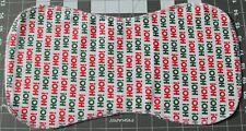 New Flannel Burp Cloths Large Soft Double Layer Handmade Christmas Ho!Ho