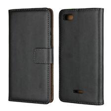 Genuine Leather Wallet Flip Case Cover For Xiaomi Redmi 6A