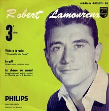 Robert LAMOUREUX on 1965 Philips 432.071 (France) - EP with Picture Sleeve