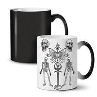 Gothic Skull NEW Colour Changing Tea Coffee Mug 11 oz | Wellcoda