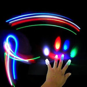 AUTISM 4 FINGERTIP LIGHT SHOW ADHD ASPERGES RELAXATION THERAPY TOY MOOD