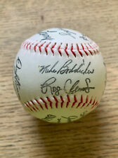 1988 Boston Red Sox Team Autograph Stamped Baseball