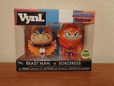 ECCC 2018 Funko Exclusive He-man MOTU Beast Man & Sorceress vynl 2-pack 2500
