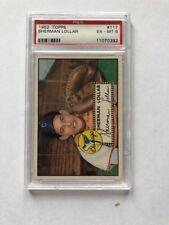 1952 Topps Sherman Lollar PSA 6 Chicago White Sox