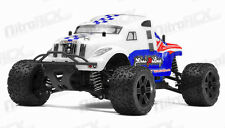 Mini MadBeast 1/18 Electric Monster Truck Ready to Run RC Remote Control White