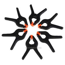 6Pcs 4.5Inch Photo Studio Background Heavy Duty Muslin Backdrop Stand Clamp Clip