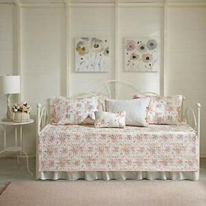 Madison Park Daybed Cover Set-Double Sided Quilting Casual Design All Season ...