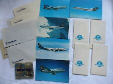 1970's Olympic Airways Bundle Postcards / Note Pads / Paper etc - 18 New Items