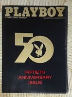 Playboy Magazine January 2004 ☆Pull Out Centerfold☆ 50th Anniversary Collector's