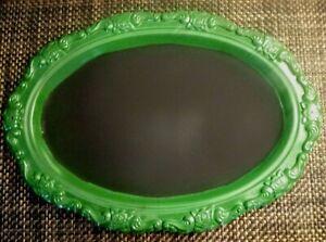"Chalkboard Metal Tray Green 15.5"" x 11"""