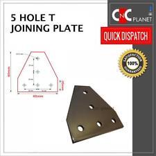 5 Placa de orificio T unirse a 2020 V-Ranura Perfil de extrusión de aluminio CNC 3D Impresora