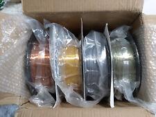 TTYT3D Silk PLA 3D Printer Filament 1.75mm SILK copper, bronze, silver 4 pack bu