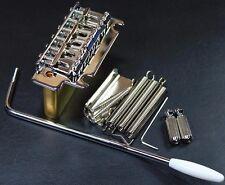 2 POST STRAT GUITAR Tremolo Bridge / Brass Block ( VINTAGE)