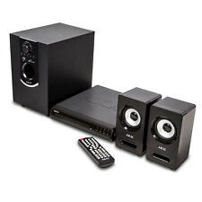 Akai Bluetooth Surround Sound Speaker Multimedia DVD Home Theatre Cinema System