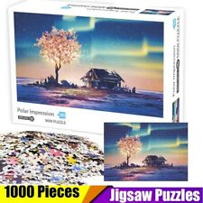 1000Piece Mini Jigsaw Puzzles Polar High Difficulty Decompression Puzzle Toys US