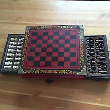 Vintage Chinese Chess Set /Qing Warrior