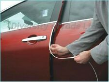 Plata coche de cromo de estilo Fundicion Tiras Trim no-adhesive 5mm (0,5 cm) X 15m