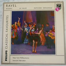 vinyl lp record RAVEL - BERNSTEIN bolero la valse rapsodie espagnol