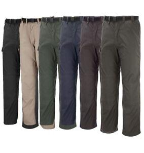 Craghoppers Mens Kiwi Classic Walking Trousers Multi Pocket CMJ100