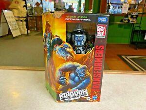 Transformers Generation War for Cybertron Kingdom Trilogy OPTIMUS PRIMAL Voyager