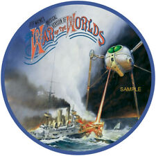 "JEFF WAYNE,S WAR OF THE WORLDS  VINYL STICKER  100MM 4"" BUY 2 GET 1 FREE QUALITY"