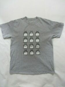 My Neighbor Totoro T Shirt Men Size Medium Studio Ghibli Anime Grey
