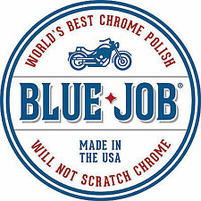 Blue Job Chrome & Stainless Steel Motorcycle Polish Removes Exhaust Blues 28g