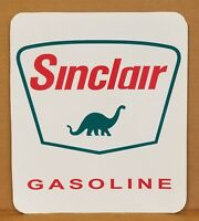 """Sinclair Dino Gas Advertising Decal approx 11.5"""" x 13.5"""" * Gas & Oil"""