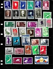 ROMANIA  :NICE    STAMP  COLLECTION DISPLAYED ON 6 SHEETS. SEE SCANS