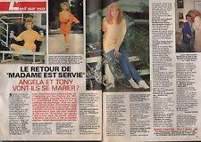 Coupure de presse Clipping 1992 Madame est servie Judith Light  (2 pages)