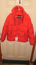 2017 American-Eagle-Hooded-Puffer-Down-Filled-Jacket-Men's-Large-Red NWT