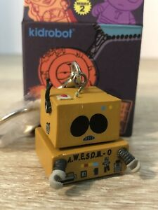 Kidrobot South Park Cartman Awesome-O Zipper Pull Key Chain Series 2 New Opened