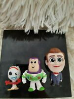 Toy Story 4 Minis Series 2 Disney Blind Bags Mystery Figures Pixar NEW Lot of 3